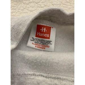 Hanes grey sweatshirt